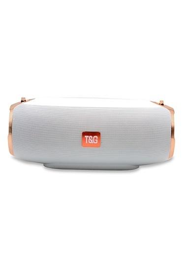 Platoon PL-4147 Işıklı Bluetooth Speaker Fm/Sd/Usb Beyaz